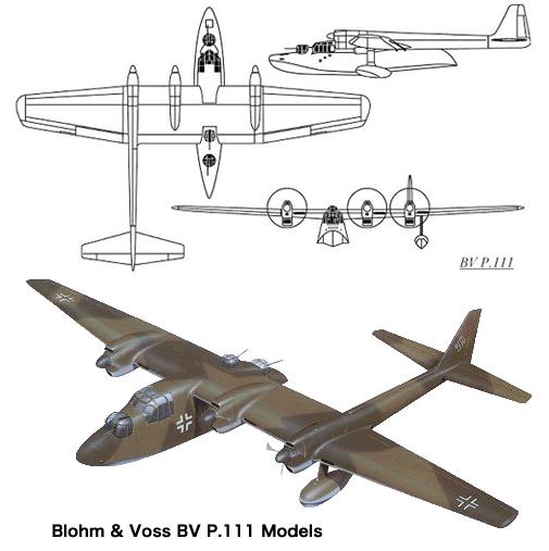 Blohm & Voss BV P.111 Models.jpg
